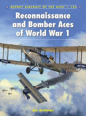 Image for Reconnaissance and Bomber Aces of World War 1 #123 Osprey Aircraft of the Aces