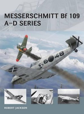 Image for Messerschmitt Bf 109 A-D Series #18 Osprey Air Vanguard