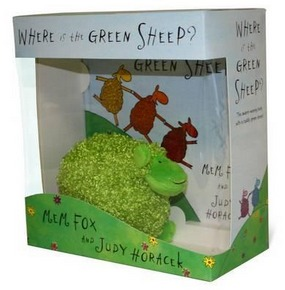 Image for Where is the Green Sheep? Hardback book and plush toy boxed set *** TEMPORARILY OUT OF STOCK ***