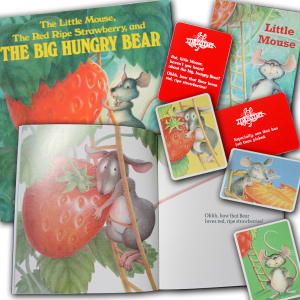 Image for The Little Mouse, the Red Ripe Strawberry, and the Big Hungry Bear (Book and Game Set)