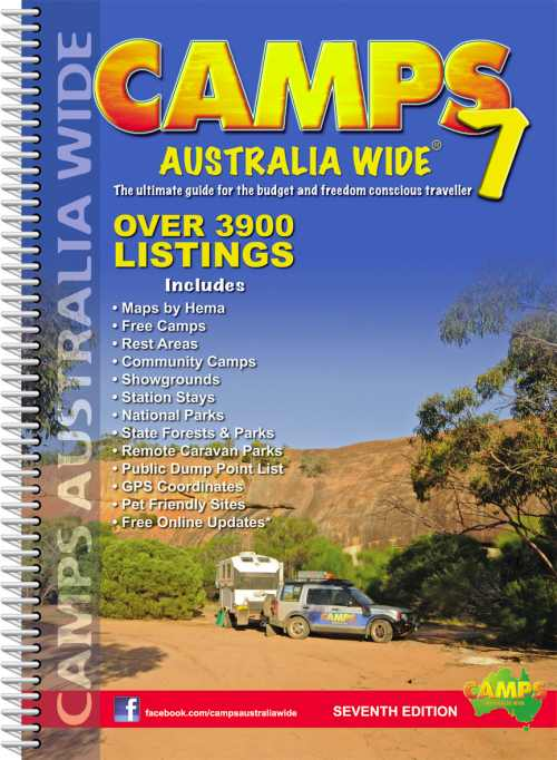 Image for Camps Australia Wide 7 [spiral bound edition]