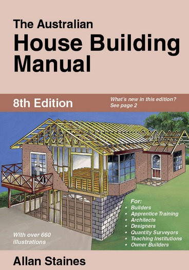 Image for The Australian House Building Manual 8th Edition