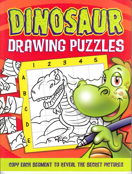 Image for Dinosaur Drawing Puzzles