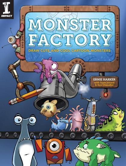 Image for Monster Factory: Draw Cute and Cool Cartoon Monsters