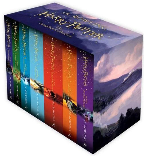 Image for Harry Potter Boxed Set: The Complete Collection 7 Books (Children's Paperback)
