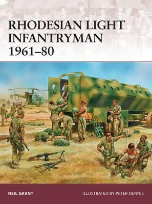 Image for Rhodesian Light Infantryman 1961-80 #177 Osprey Warrior