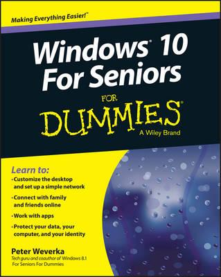Image for Windows 10 for Seniors For Dummies