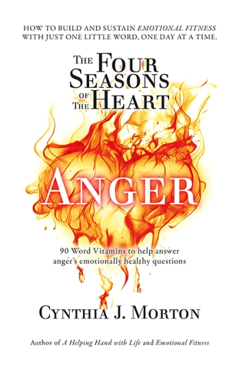 Image for The Four Seasons of the Heart - Anger - 90 Word Vitamins to help answer Anger's emotionally healthy questions