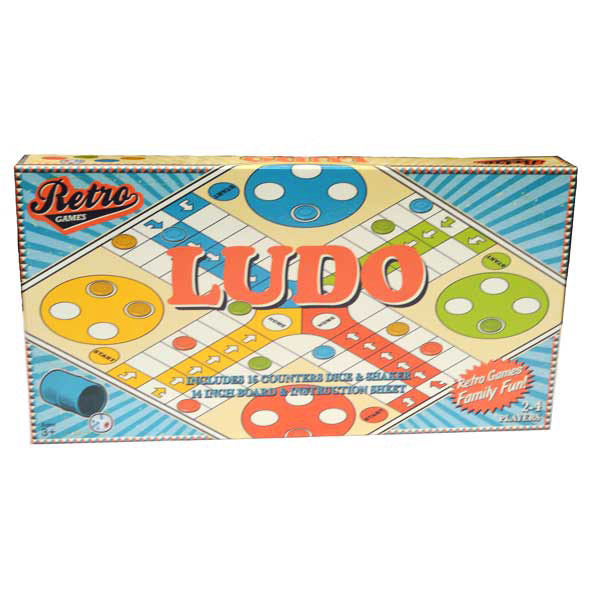 Image for Retro Games Ludo Board Game *** Temporarily Out of Stock ***