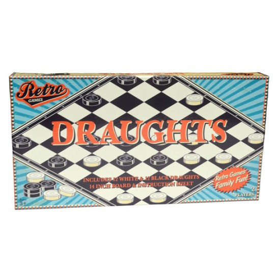Image for Retro Games Draughts / Checkers Board Game