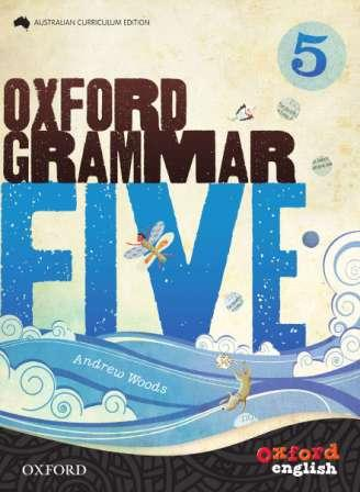 Image for Oxford Grammar 5 ACE Australian Curriculum Edition 3rd Edition