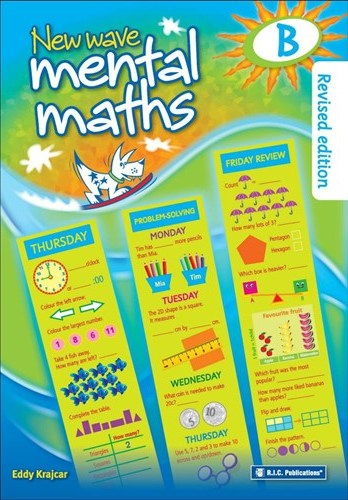 Image for New Wave Mental Maths B -  Ages 6-7 Australian Curriculum RIC-1701