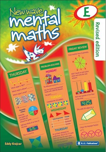 Image for New Wave Mental Maths E -  Ages 9-10 Australian Curriculum RIC-1704