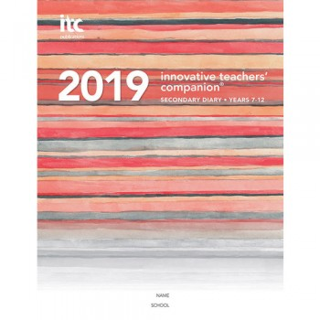 Image for Innovative Teachers' Companion - 2019 Secondary Diary Years 7-12  (4 Period)