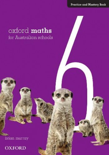 Image for Oxford Maths 6 Practice and Mastery Book