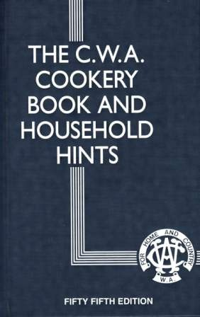 Image for The CWA Cookery Book and Household Hints 55th Edition
