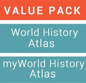 Image for Jacaranda World History Atlas + Jacaranda MyWorld History Atlas (Registration Card) Value Pack