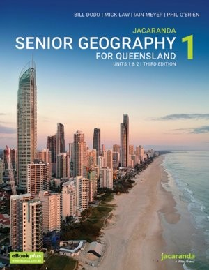 Image for Jacaranda Senior Geography 1 for Queensland Units 1&2 3E eBookPLUS + print