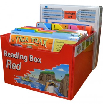 Image for Reading Box Red : 150 full colour laminated cards spread over 15 levels 16 to 34+ [Years 4 and 5]