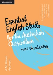 Image for Essential English Skills for the Australian Curriculum Year 8 2nd Edition
