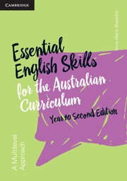 Image for Essential English Skills for the Australian Curriculum Year 10 2nd Edition