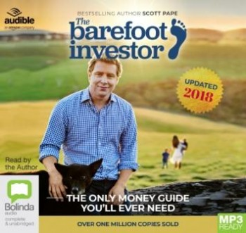 Image for The Barefoot Investor 2018/2019 Edition MP3 Audio CD The Only Money Guide You'll Ever Need *** TEMPORARILY OUT OF STOCK ***