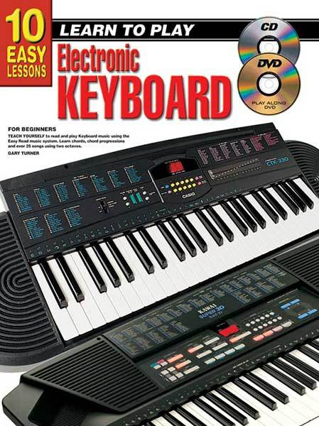 Image for 10 Easy Lessons Learn To Play Keyboard for Beginners (Includes CD/DVD and Chart)