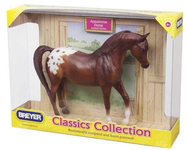 Image for Breyer Horses Classics Collection Chestnut Appaloosa 1:12 Scale 937 ***Out of Stock***
