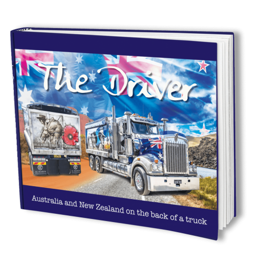 Image for The Driver: Australia and New Zealand on the back of a truck