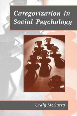 Image for Categorization in Social Psychology [used book]