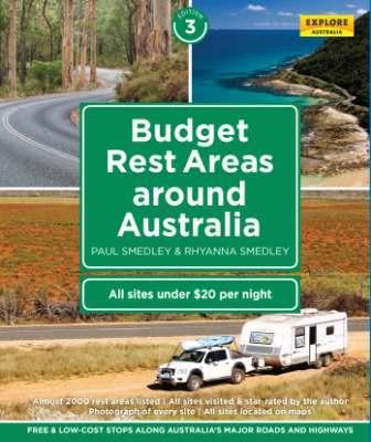 Image for Budget Rest Areas Around Australia 3rd Edition: Free and Low-cost Stops along Australia's Major Roads and Highways