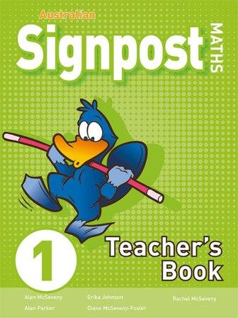 Image for Australian Signpost Maths 1 Teacher's Book (3e)