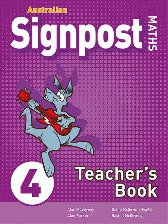 Image for Australian Signpost Maths 4 Teacher's Book (3e)