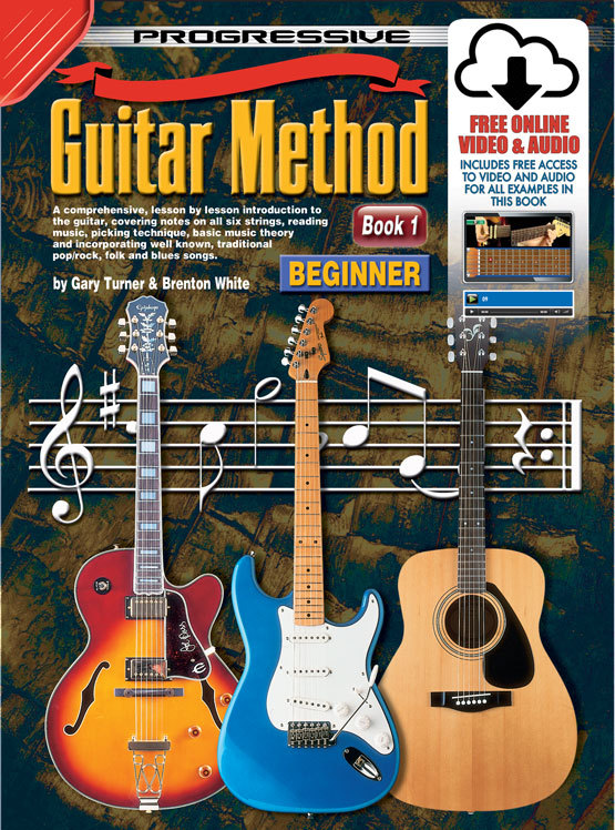 Image for Progressive Guitar Method Book 1 Beginner (includes Free Online Video and Audio) Teach Yourself How to Play Guitar *** Temporarily Out of Stock ***